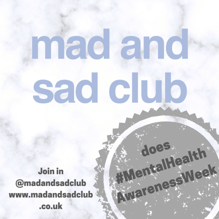 Mental Health Awareness Week M&S Club