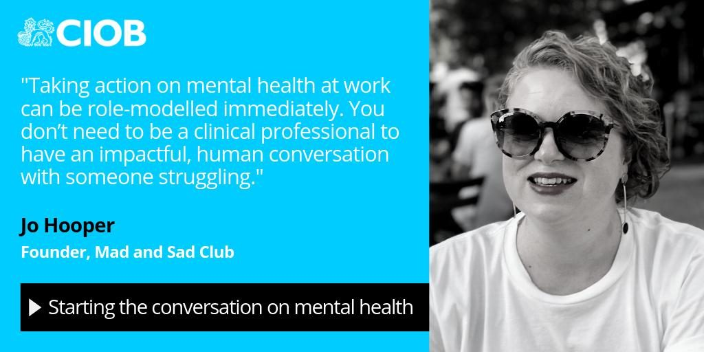Mental Health at work - CIOB