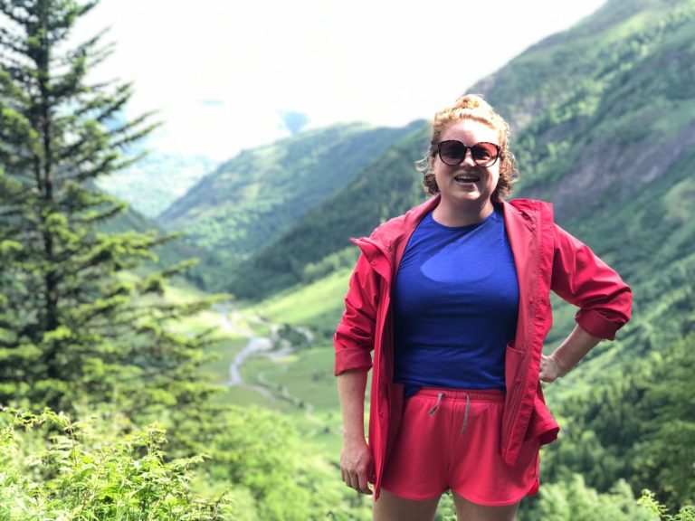 A writing, hiking mental health retreat